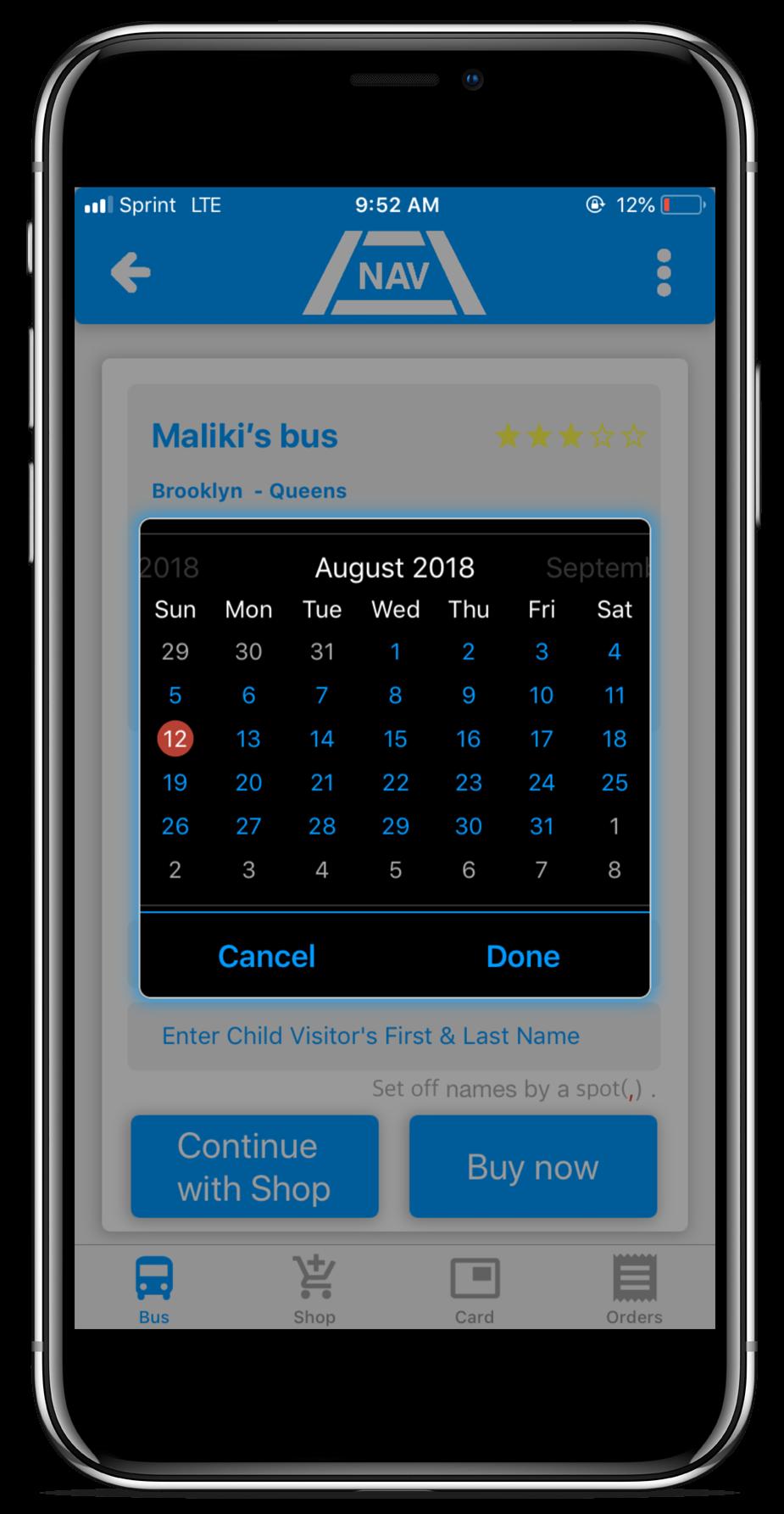 Nav Transportation | Hassle-free Scheduiling